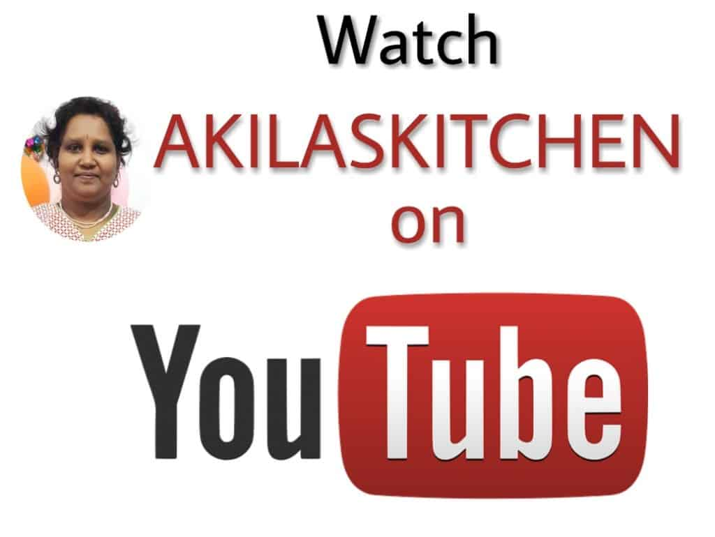 Akilaskitchen on Youtube