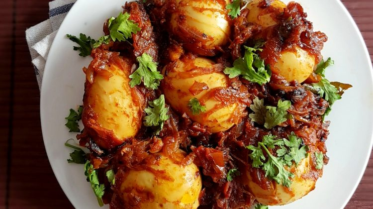 Masala egg roast recipe | How to make Egg Roast