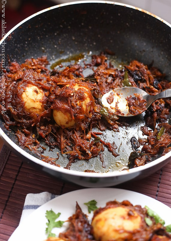 Masala egg roast