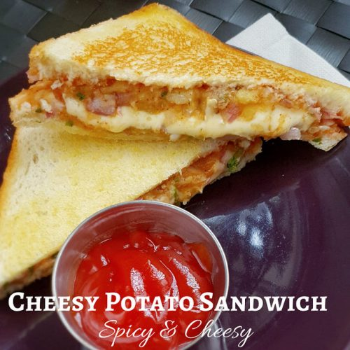 Cheesy Potato Sandwich
