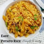 Easy Potato rice | kids lunch box recipes