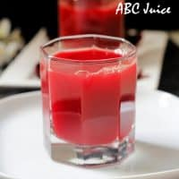 Apple beetroot carrot juice