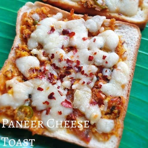 Paneer Cheese Toast
