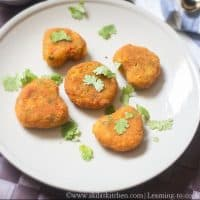 Soya chunks cutlet meal maker cutlet