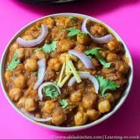 chana masala step by step