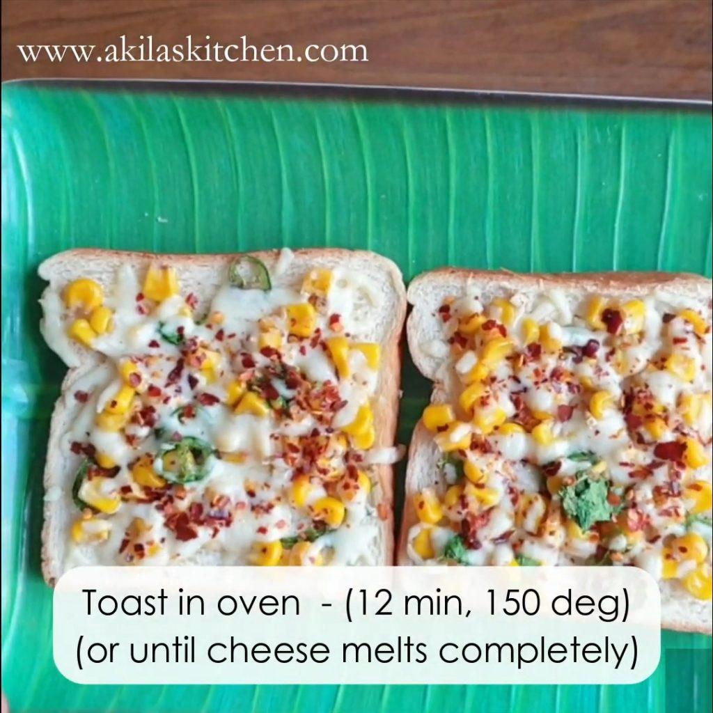 Corn toast