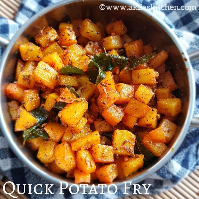 Quick potato fry
