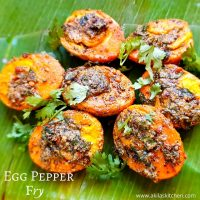 Egg pepper fry