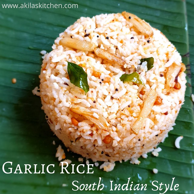 Garlic rice poindu sadham