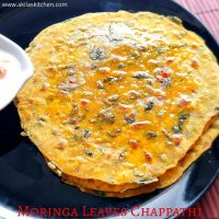 Moringa leaves chappathi